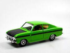 GAMA 9650, Opel Kadett Coupe grün/schwarz 1:45 - falsche Box