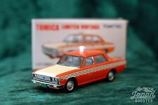 [TOMICA LIMITED VINTAGE LV-129b 1/64] TOYOPET CROWN TAXI CHECKER CAB (Orange)