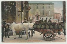 ITALIA - cartolina PERUGIA - Carro con buoi - nvg - fp