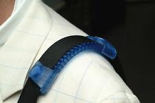 "2"" WIDTH ERGOPAD NONSLIP SHOULDER STRAP PAD LAPTOP BAG ACCESSORY IN BLUE"
