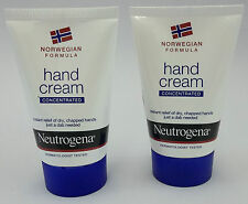 TWO NEUTROGENA CONCENTRATED HAND CREAM  2X50ML NEW