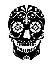 SUGAR SKULL Wall Art Decal Words Lettering Quote Decor Design Home