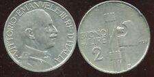 ITALIE  ITALY  2 lire 1924