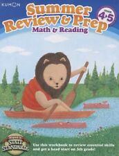 Kumon Summer Review & Prep Workbooks 4-5 by Kumon Publishing
