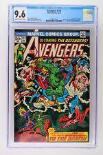 Avengers #118 - Marvel 1973 CGC 9.6 Defenders crossover! Watcher & Loki App!