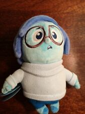 Disney Pixar Child's Sadness Inside Out Plush Soft Therapy Toy BNWT
