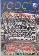 Programme / Programma FC Utrecht v FC Den Bosch 28-11-1999 1000e wedstrijd!