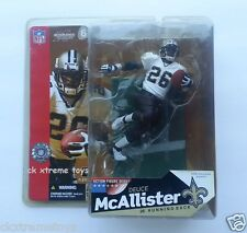 Mcfarlane Deuce McAllister, New Orleans Saints Rb, No. 26 Figure Football Nfl #6