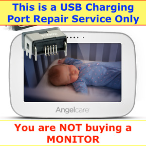 ANGELCARE AC417, AC517 BABY MONITOR REPAIR SERVICE ONLY FOR USB CHARGING PORT