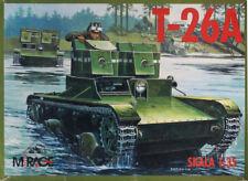 Mirage Hobby 1:35 T-26A WWII Soviet Tank Plastic Model Kit #35027U