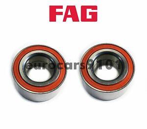 BMW 135is 325xi 330xi FAG (2) Rear Wheel Bearings 33416775842 805560A
