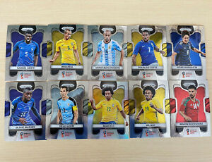 Panini Prizm Soccer FIFA World Cup Trading Cards - 2018 43 Card Lot