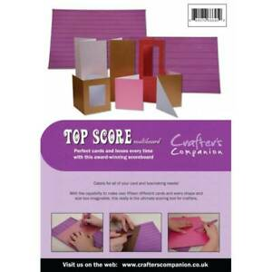Crafter's Companion Top Score Multi Board Papercraft Card Scoring Embossing Tool
