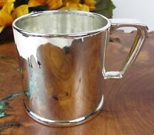 """Antique Tiffany & Co Vintage Heavy Sterling Silver """"RDW"""" """"1917"""" Baby Toddler Cup"""
