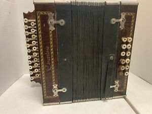 Concertone Button Accordion for parts or repairs