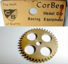 1 Brass 38T Spur Gear by Corben Mfg Model Car Racing Equipmet 1960's Vintage Nos
