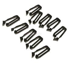 10pcs 25mm Molle Webbing Connecting Clips Strap Buckle Backpack Clip Black