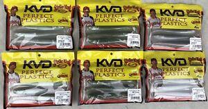 "30 Strike King KVD 5"" Swim-N-Shad Swim baits. 6 Packs Of 5. 3 Colors 10 Of Each"