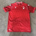 Nottingham Forest Red Macron Home Shirt JL Under 11/12