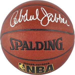 Kareem Abdul-Jabbar Autographed Indoor/Outdoor Basketball - Fanatics