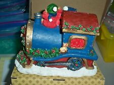 Christmas Holiday Bears Train Piggy Bank -                                  7918