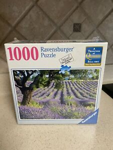 Ravensburger 1000 Piece Jigsaw Puzzle Lavender Fields Countryside New, Sealed