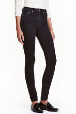 Ladies H&M Skinny High Waist Super Stretch Trousers Jeans  Slim Leg BNWT