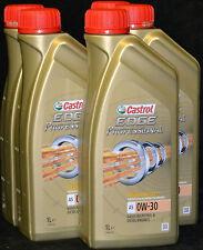 6x1 Liter Castrol EDGE Professional A5  VOLVO  0W-30 Motoröl FST TITANIUM 0W30