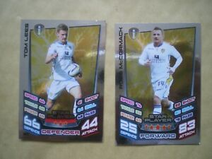 MATCH ATTAX CARDS 2012-2013 CHAMPIONSHIP STAR PLAYERS, ROSS MCCORMACK & TOM LEES