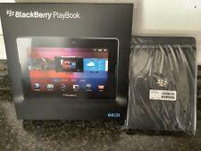 New BLACKBERRY PLAYBOOK 64GB Wi-Fi 7-INCH TABLET + Free BB Book Binder