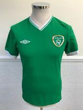 Official Umbro Ireland Football Green Training Shirt Top Jersey Irish Size Small