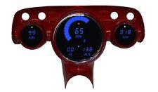 LS Swap 57 Chevy Bel Air Digital Dash Panel Blue LED Gauges Lifetime Warranty