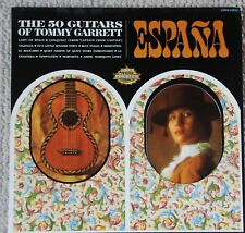 ESPANA The 50 Guitars of Tommy Garrett LMM-13032 VG+