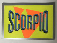 Merlin Collections 1992 Gladiators Sticker Number 106 Scorpio