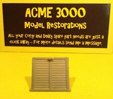 Matchbox Lesley 17D 43C Reproduction Repro Horsebox Grey Plastic Rear Door