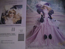 Franklin Heirloom VIOLETS IN THE SNOW Doll Advertisement Ad ONLY