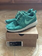 """Nike Roshe Run GPX """"Atomic Teal Floral"""" Floral Graphic Pack 555445-330 Size 9.5"""