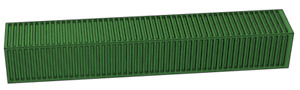 HO 1:87 Scale 53 Foot Model Shipping Container Green
