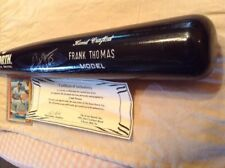 Frank Thomas Autographed Bat COA