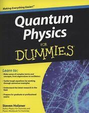 Quantum Physics For Dummies  Holzner, Steven  Good  Book  0 Paperback