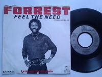 "Forrest / Feel The Need 7"" Vinyl Single 1983 mit Schutzhülle"