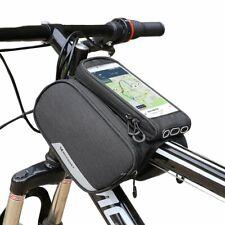 Fahrrad Halterung f LG Electronics Q6 Rahmenhalter Fahrradtasche Rahmentasche S