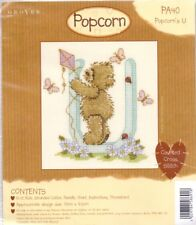 Popcorn Alphabet Counted Cross Stitch Kit PA40 Letter U