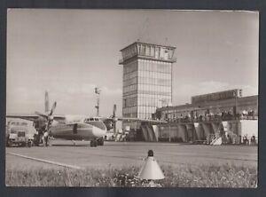 "841 /AK Erfurt-Airport Interflug-Airlines ""Turbotrop AN 24"" 1971"