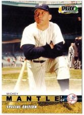 2003 Upper Deck Special Edition Play Makers MICKEY MANTLE #MM SE2003 SUPER RARE