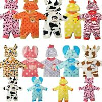 Doll Outfit Clothes For 35 Cm 14 Inch Cute Born Boy Girl Baby Accessories New