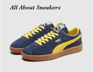 """Puma Delphin OG """"Blue Yellow"""" Men's Trainers All Sizes Limited Stock"""