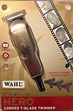 Wahl Professional 5 Star Hero Corded T-Blade Hair Trimmer 8991, UPC,043917899107