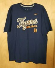 Nike Detroit Tigers Baseball T Shirt Size Xl