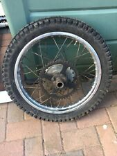 Yamaha DT50 / TY80 Rear Wheel